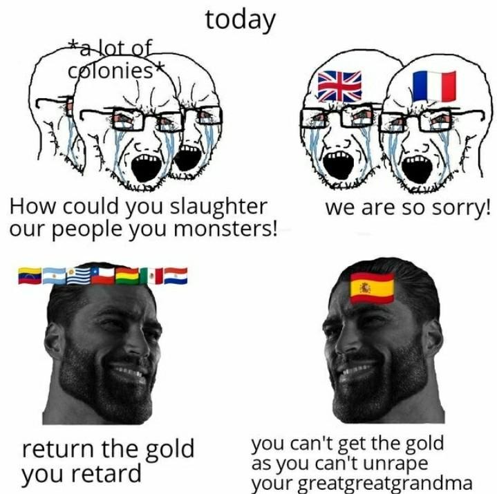 Great Spain - meme