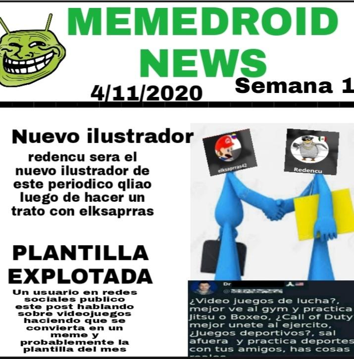 El periodico de la semana 1 de noviembre - meme