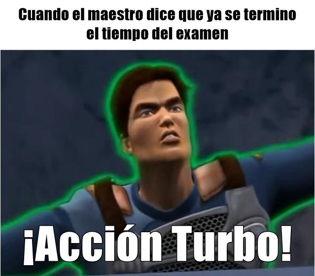 ¡Activar turbo! - meme