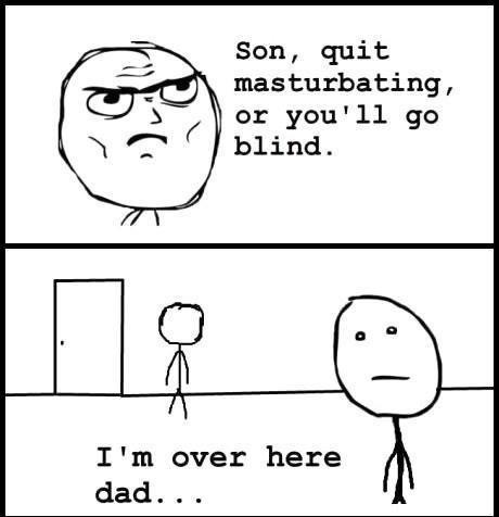 I'm blind! - meme