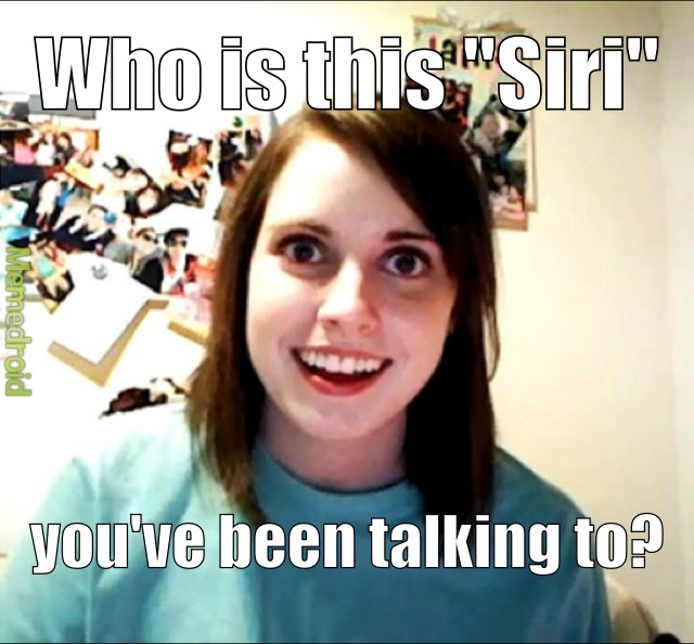 Overly Attached Girlfriend - meme