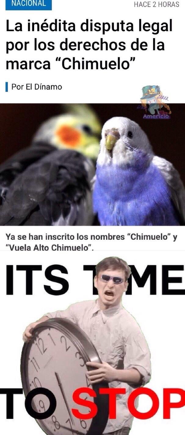 ya paren con chimuelo >:( - meme