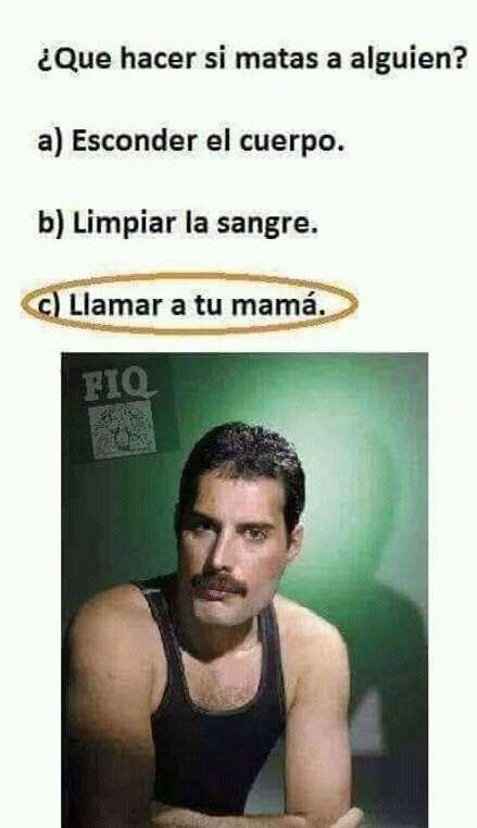 Mama, just killed a man - meme