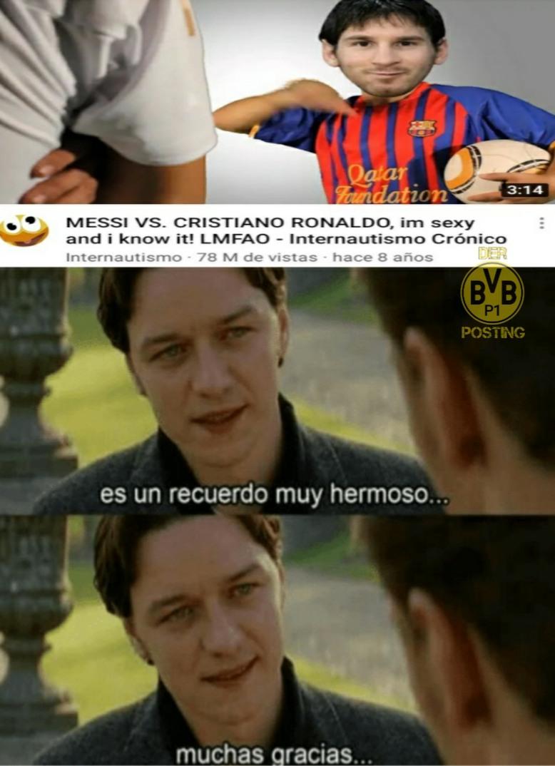 Ich bin Messi mit den zielen. - meme