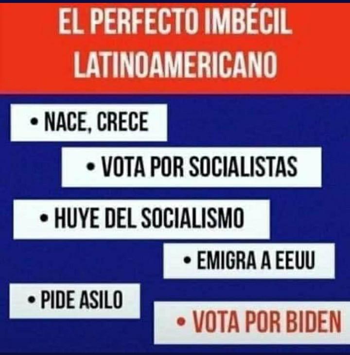 Por ese tipo de gente latinoamerica ya esta perdida..... - meme