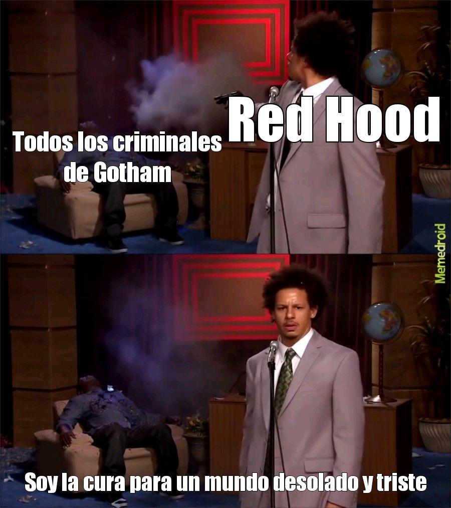 Rojo capucha - meme