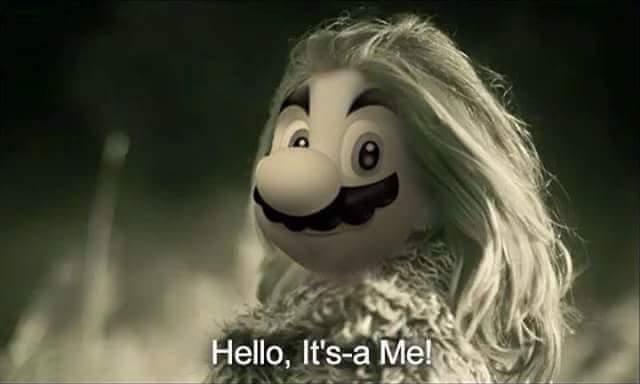 Hello its me mario! - meme