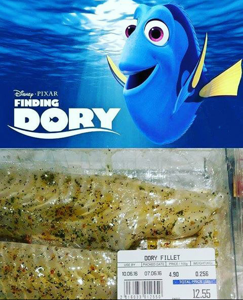RIP in peace Dory - meme