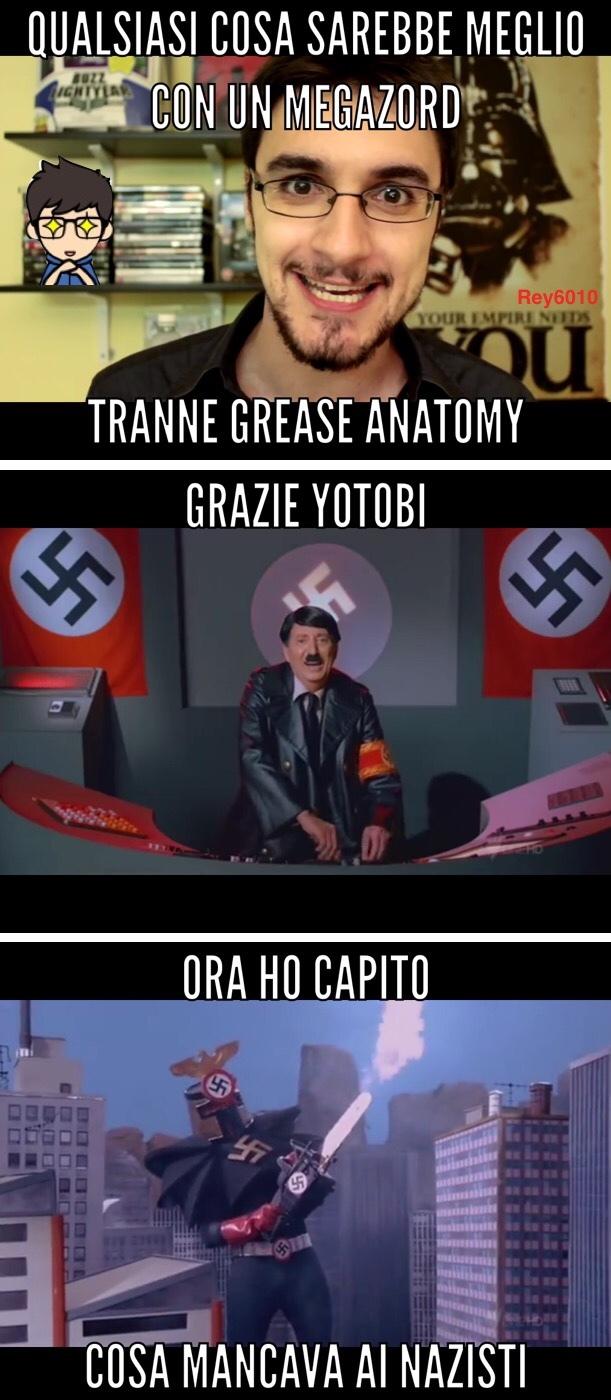 purtroppo per loro i MEGAZORD sono stati inventati negli anni 70' - meme