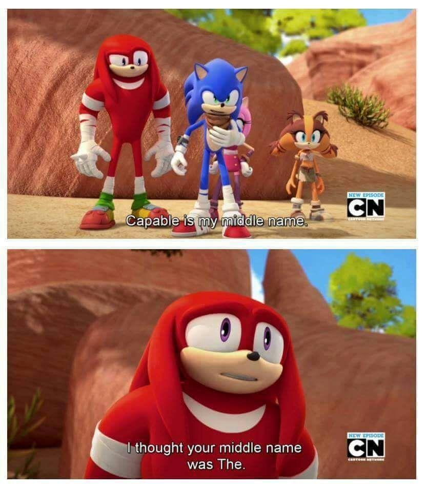 Sonic Capable Hedgehog - meme