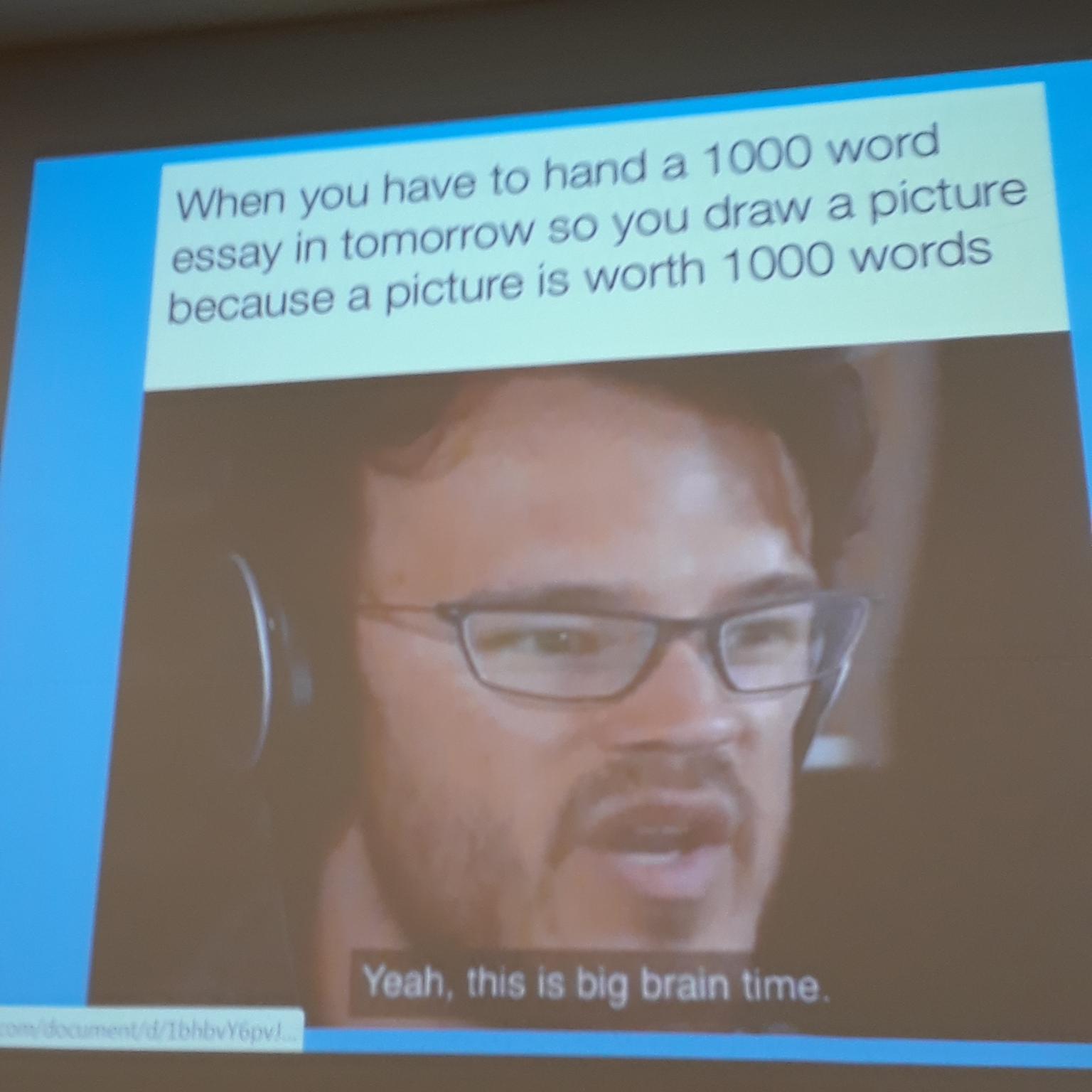 My teacher put this on the smart board - meme