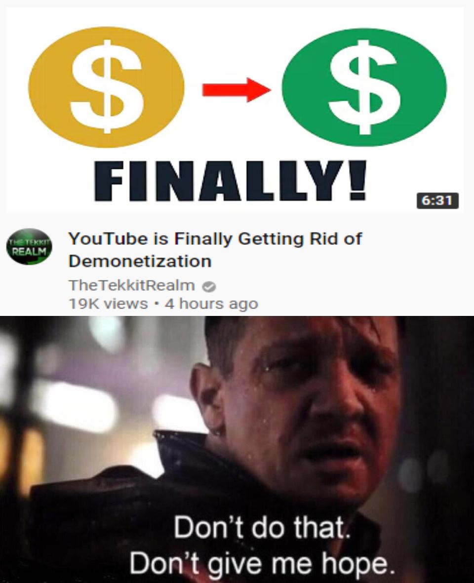 No hope - meme