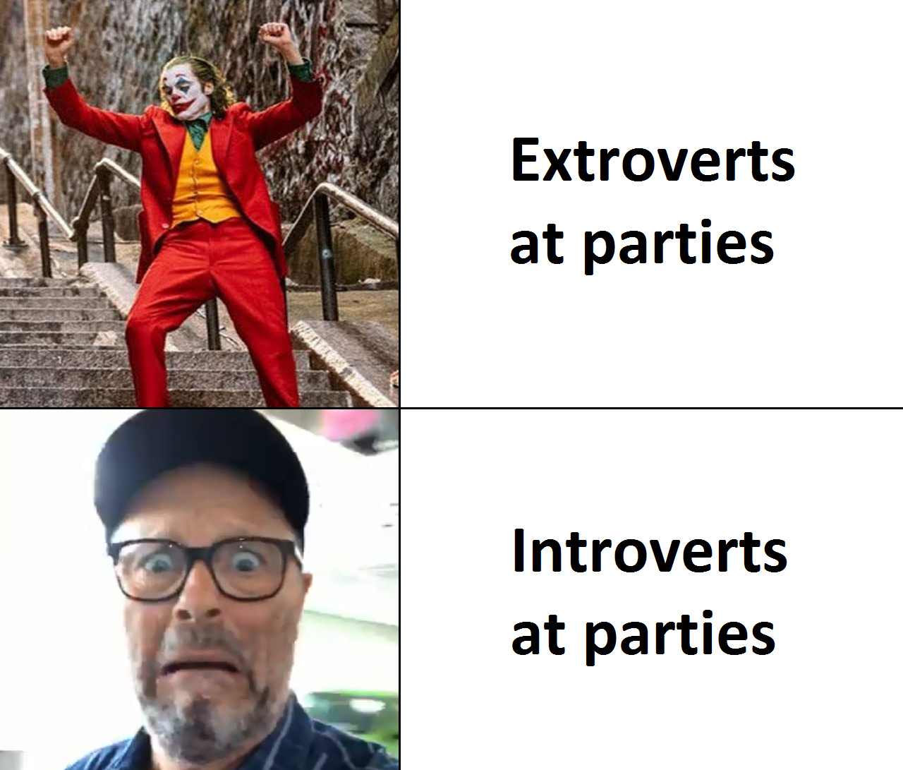 I'm more of an introvert - meme