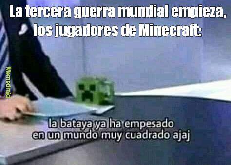 La World war - meme