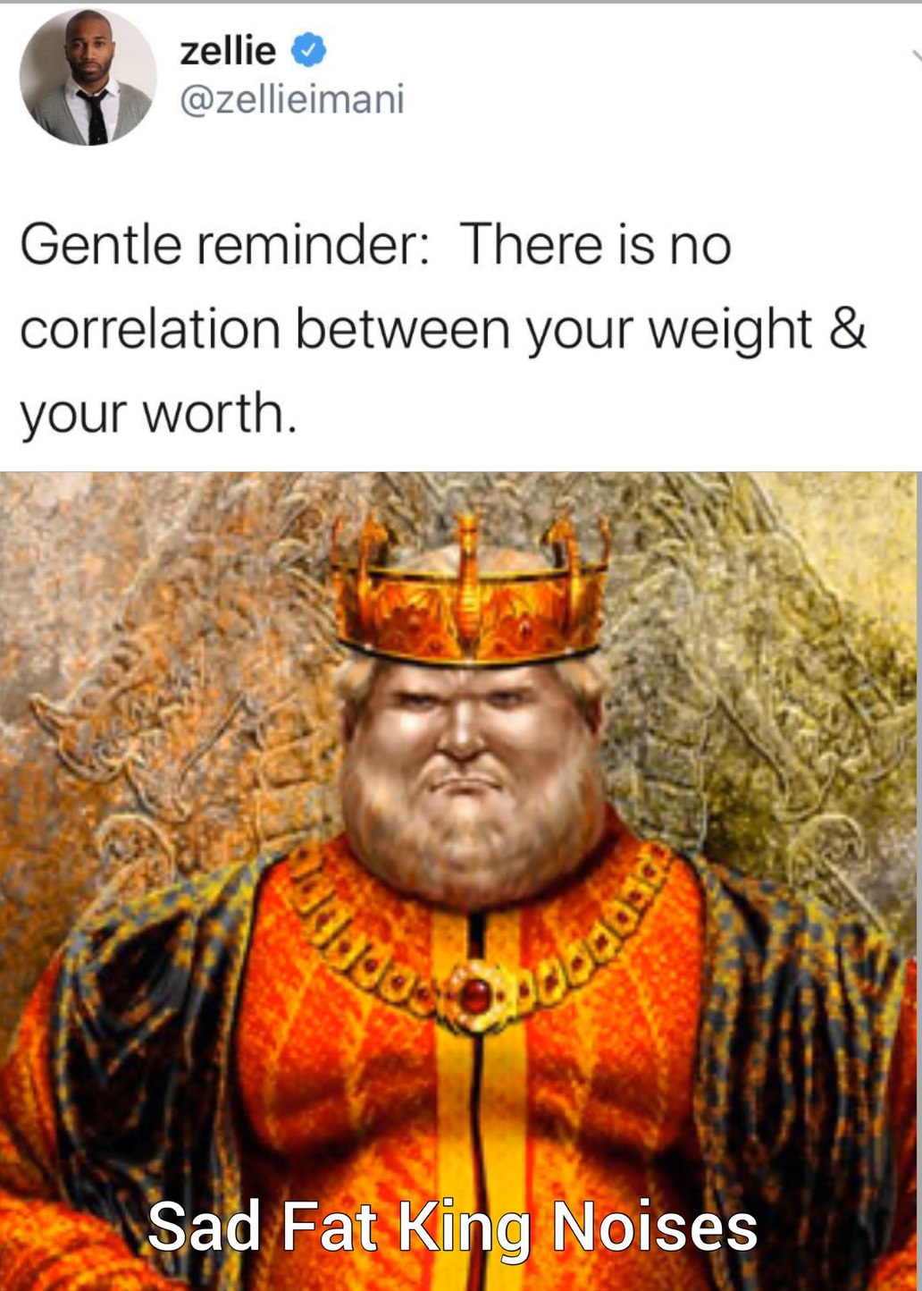 my lord,   fat shaming does work - meme