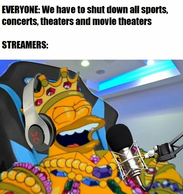 Streamers - meme