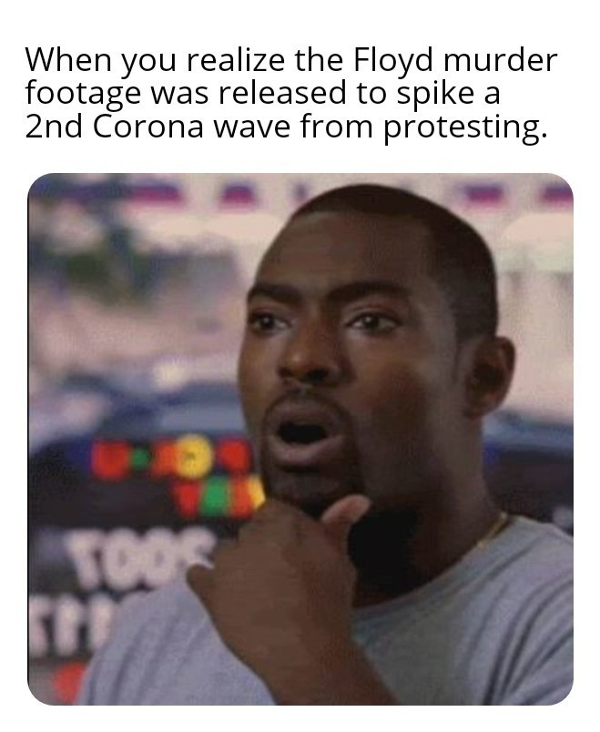 Black Lives Corona'd - meme