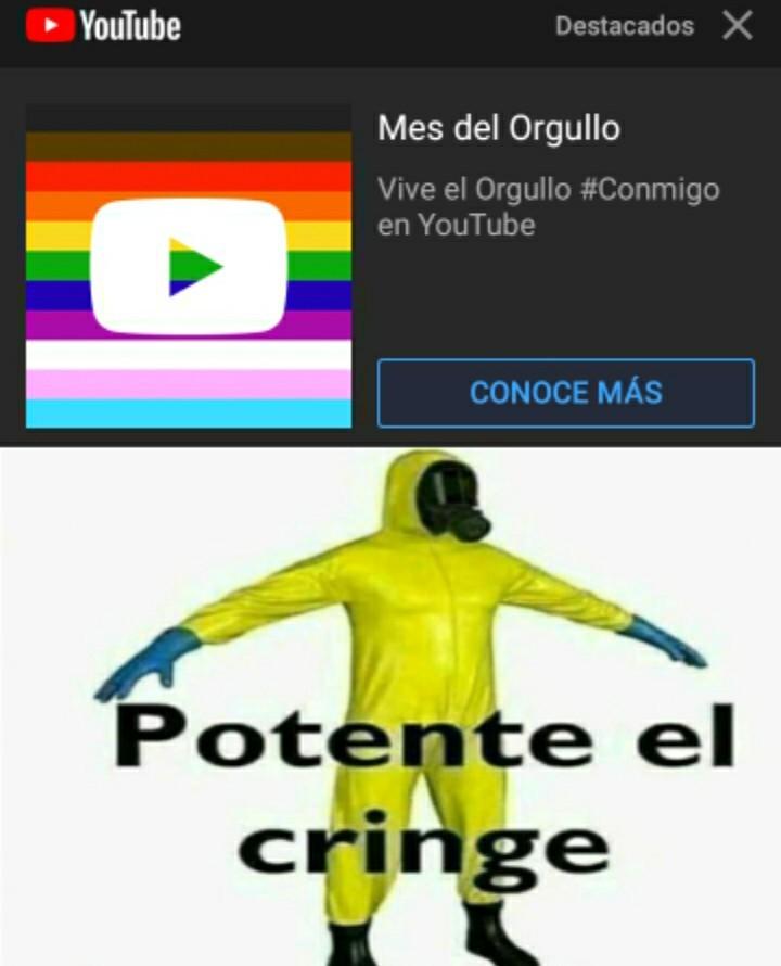 POTENTE CRINGE - meme