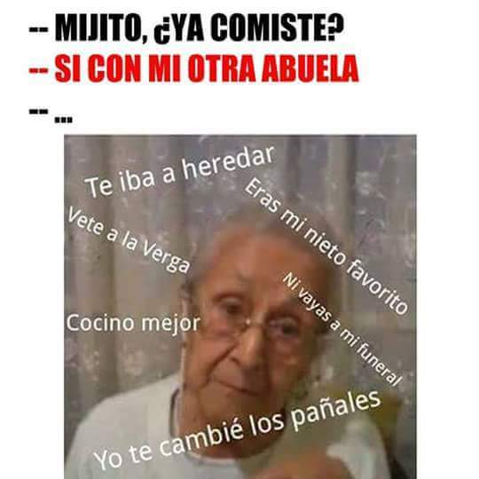 Abuelas - meme