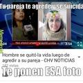 Amaría poder decir que es fake... ¡Ay Chilevisión!