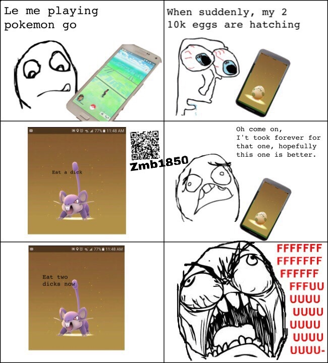 My first rage comic! - meme