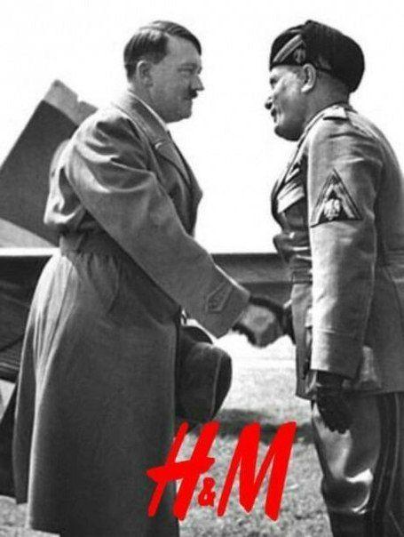 Hitler & Mussolini - C'est cadeau Butjustwhy - meme