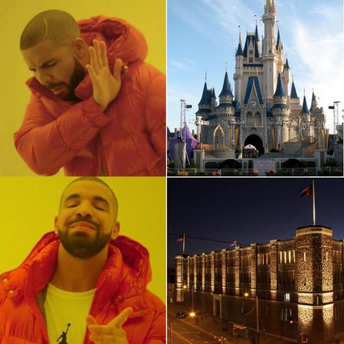 Le château de notre enfance - meme