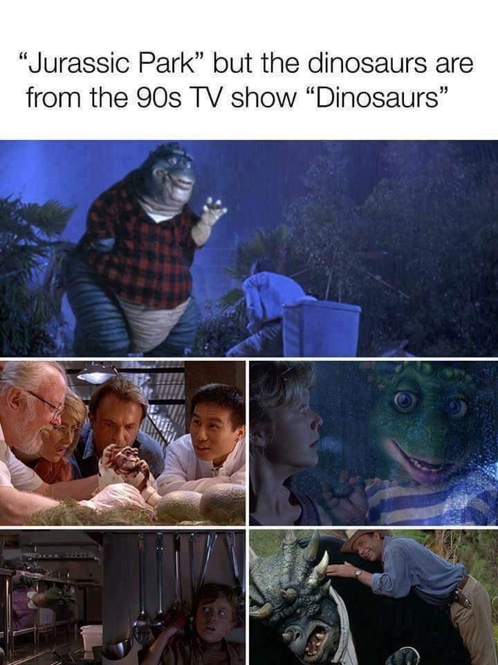 Dinosaurs - meme