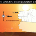 How to tell how much Light is left