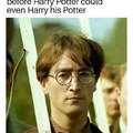 John Lennon was the first Harry Potter