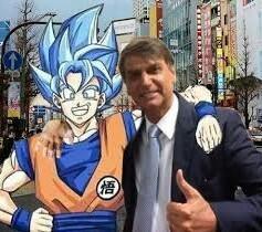 Novo Ministro dos animes - meme