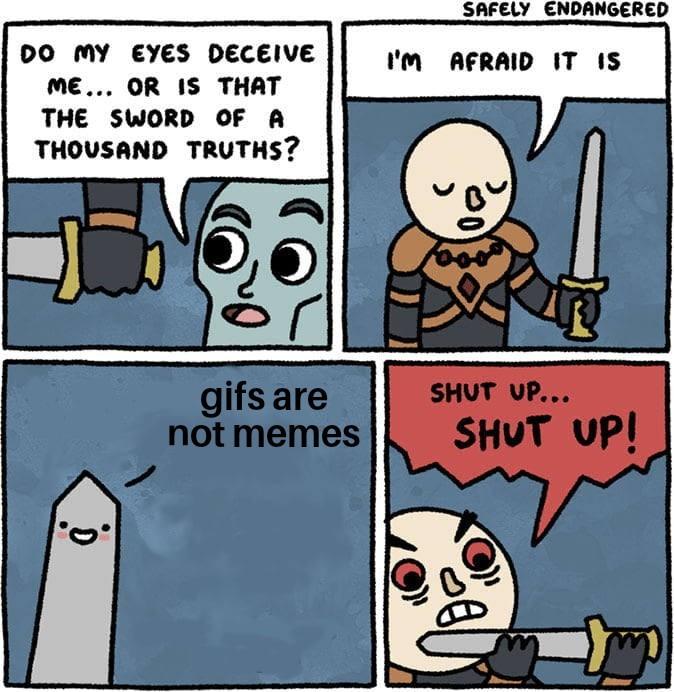 Stop posting them - meme