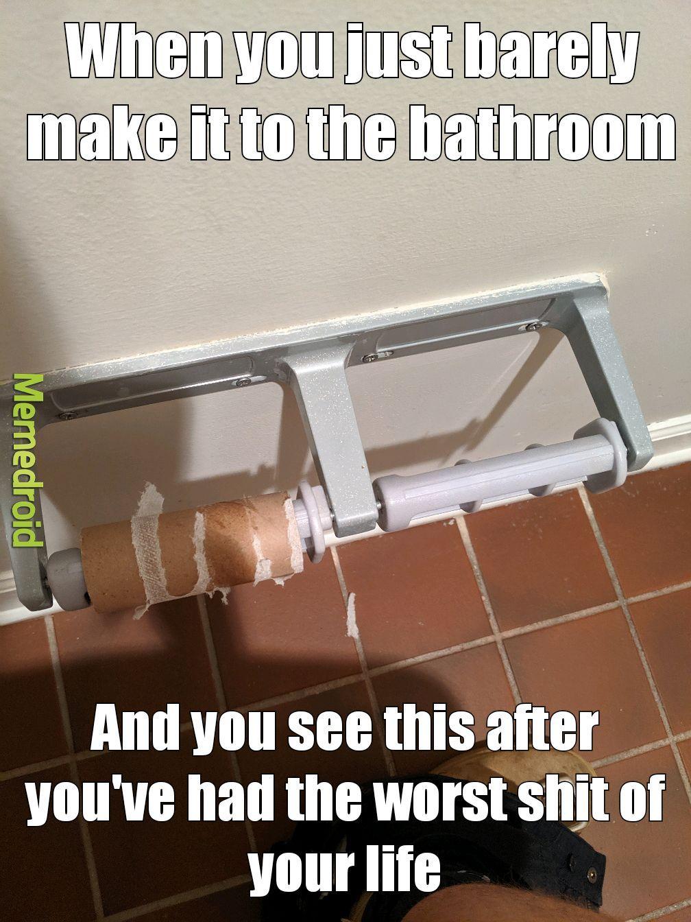 Drastic times call for drastic measures - meme