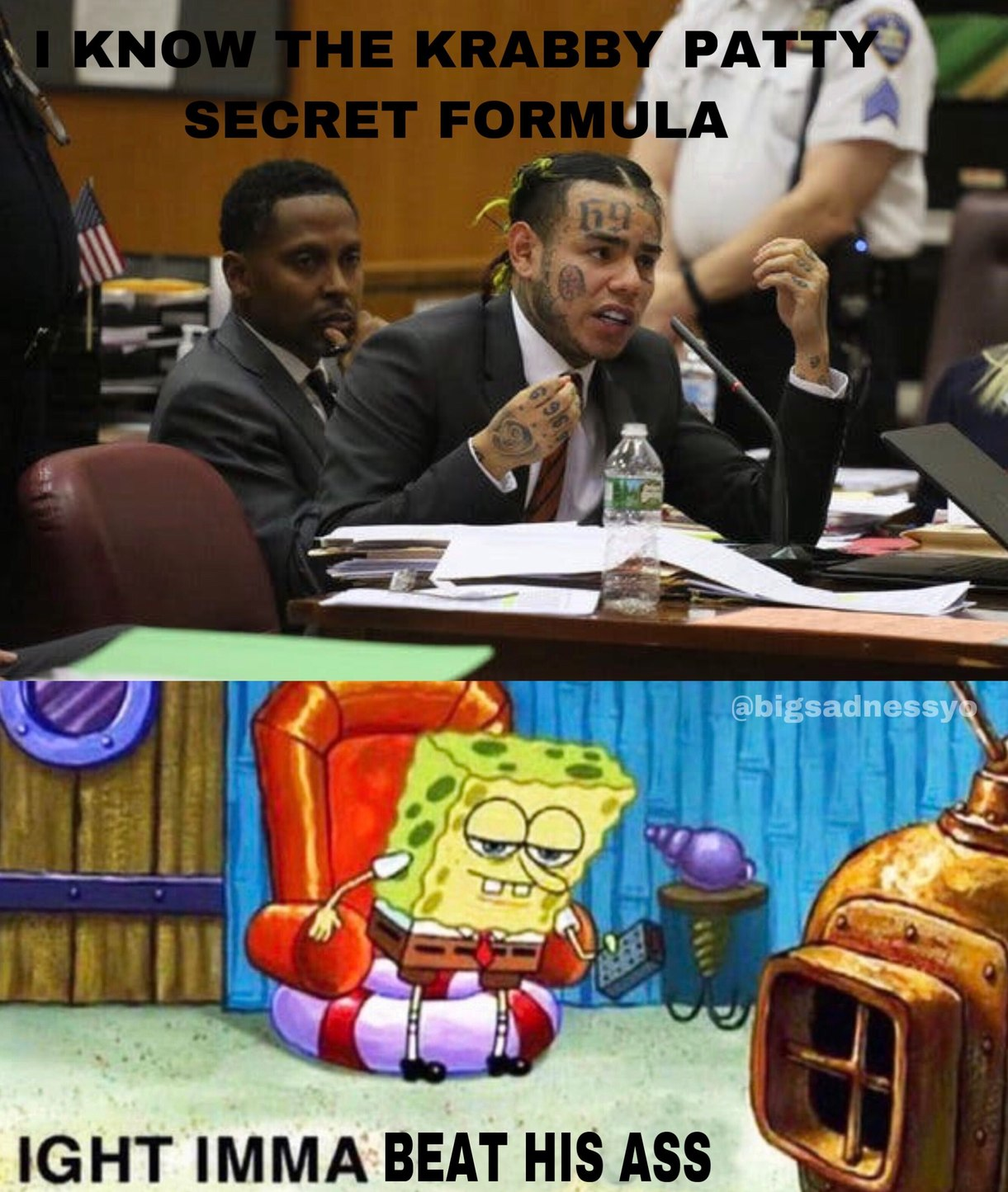 stole secret formula - meme