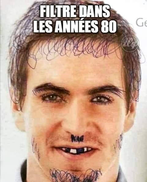 A les années 80 - meme