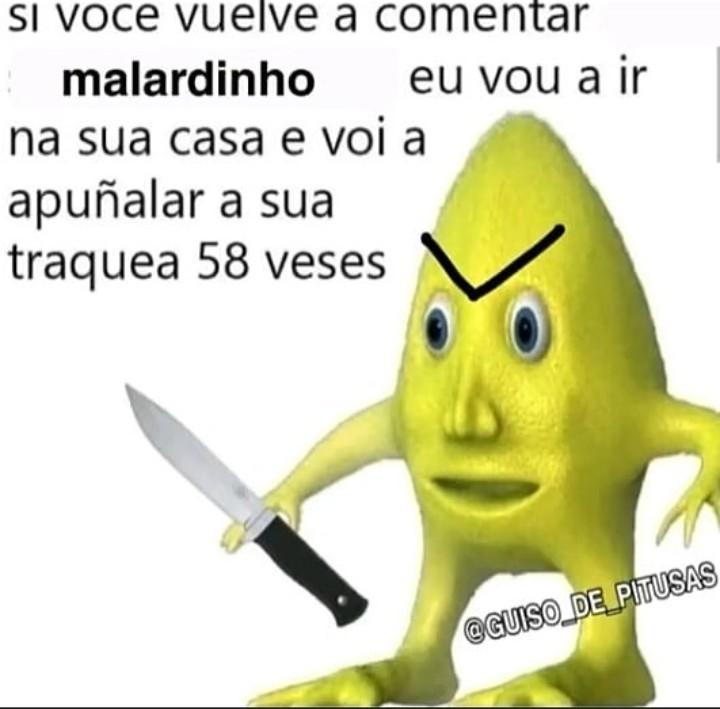 Malardinho - meme