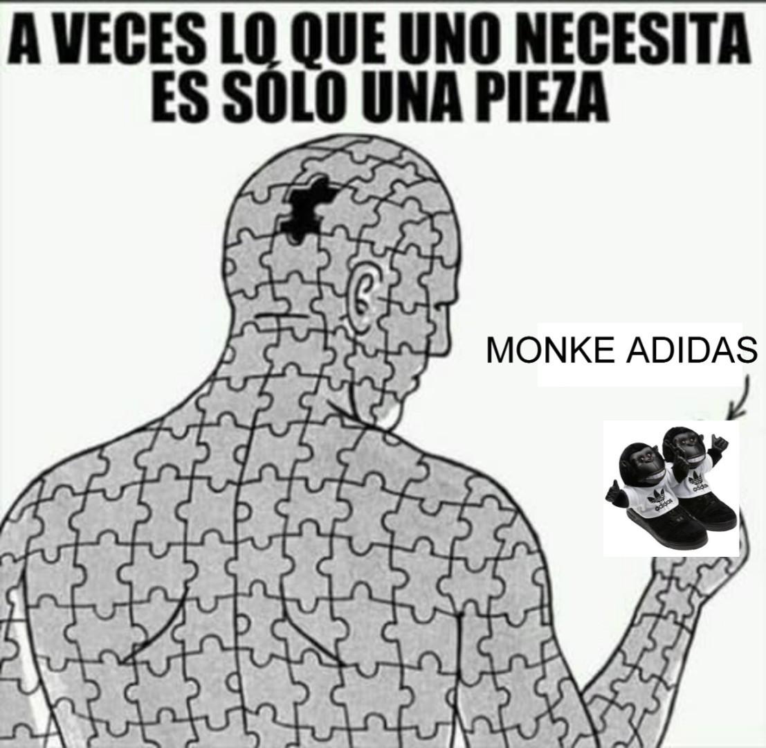 MONKE ADIDAS - meme