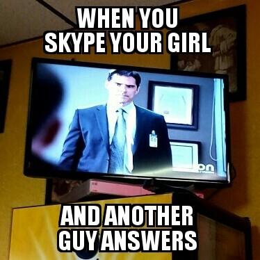 Damn Skype - meme