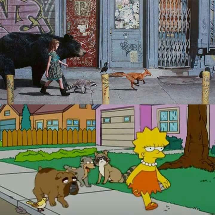 Los Simpsons atacan de nuevo - meme