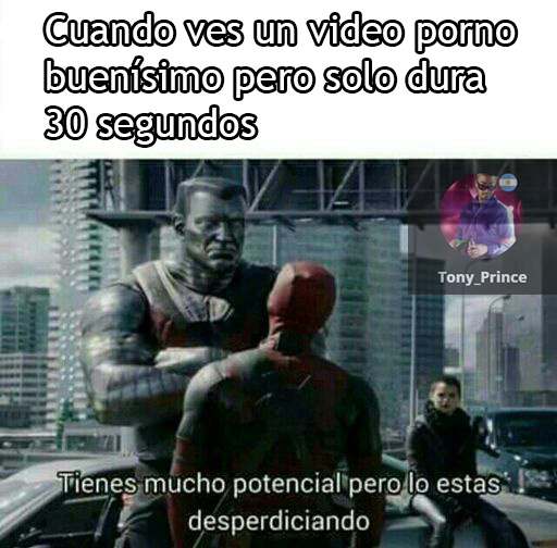 Quiero vídeos más largos :P - meme