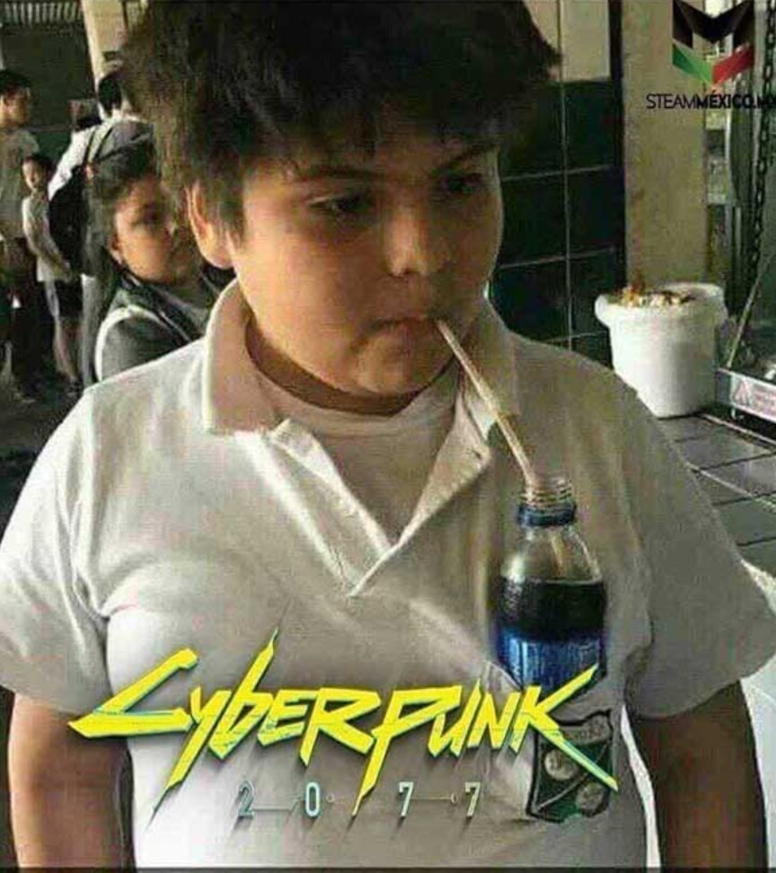 CyberFat - meme