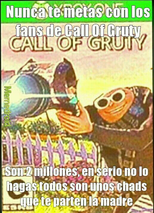 Call of gruty - meme