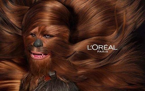 Compre o produto Loreal Chewbacca - meme