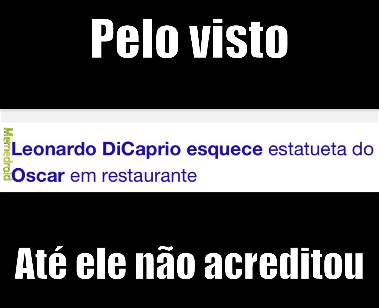 DiCaprio… - meme