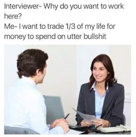 Worst job you've ever had? - meme