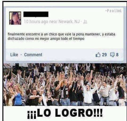lo logro!!! - meme