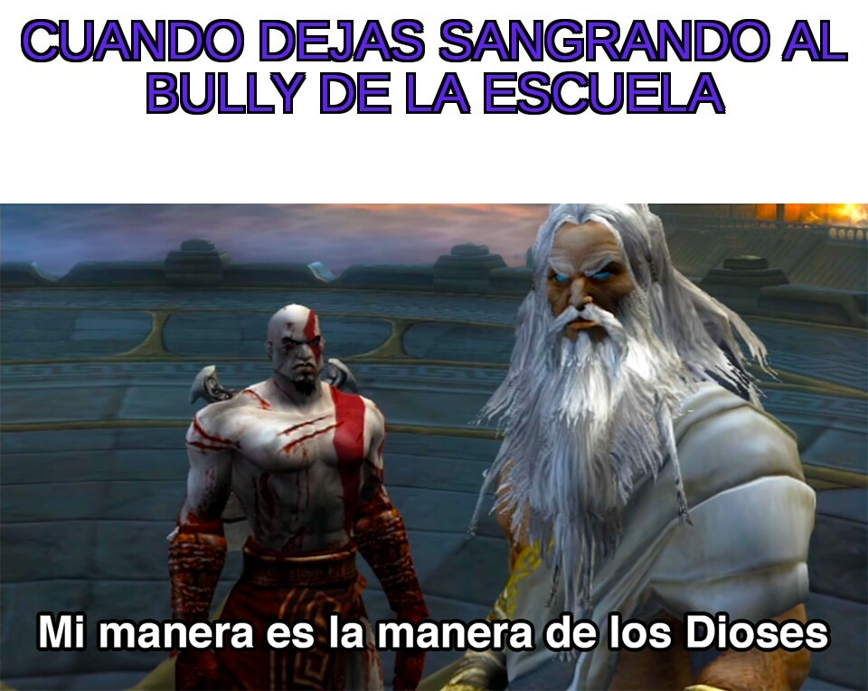 Malditos bully - meme