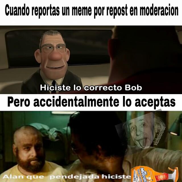 Perdonen la calidad - meme