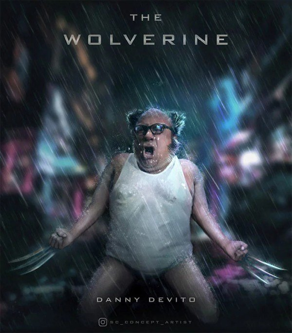 Danni Devito will be next Wolverine - meme