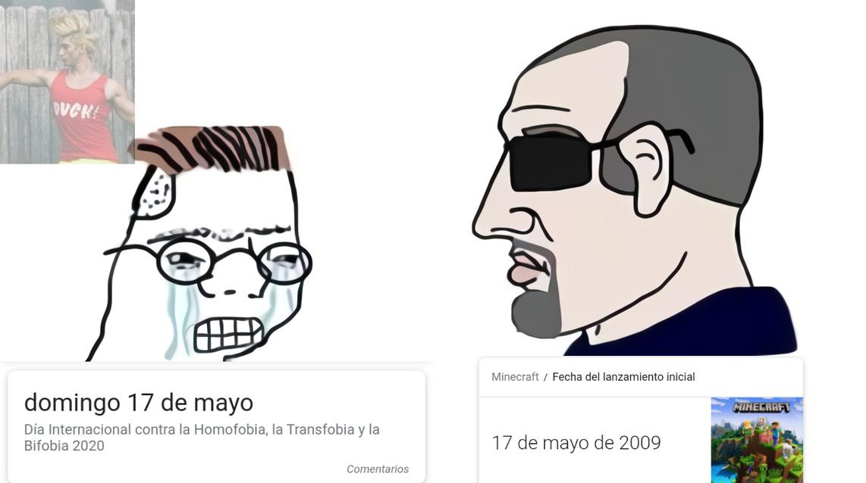 Verdadero 17 de mayo - meme
